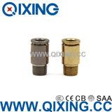 Koper/Roestvrij staal van de Schakelaar van de Compressor van de Lucht van de Montage van de Lucht van de wartel het het Snelle