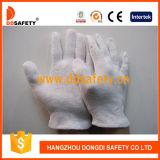 Gant moyen léger de sûreté de gants de défilé d'inspecteur de coton de poids de Ddsafety 2017