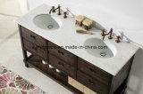 '' vanità indipendente della stanza da bagno del MDF 60 con il dispersore di ceramica