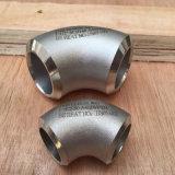 90 Elleboog van het Roestvrij staal A403 Wp 321 van de graad de Naadloze