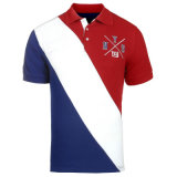 Рубашки пола Pique хлопка хорошего качества людей