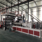 Spc Plancher Lvt PVC Extrusion Making Machine de ligne