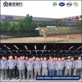 Estructura de acero prefabricada del marco de acero del palmo grande para el taller con la certificación de la ISO