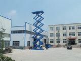 5-15 유압 톤 중국 제조자 최신 판매는 공장 가격을%s 가진 정지되는 수직 차 상승을 가위로 자른다