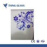 Écran plat décoratif trempé de la soie de verre d'impression