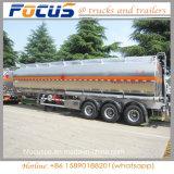 Alliage en aluminium 3 49000L réservoir de carburant de l'essieu avec semi-remorque