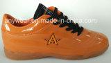 ゴム状物質のフットボールの履物の泥炭のインドアサッカーの靴(817-170 GR)