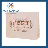 Form Clothing Carrier Hand Paper Bag mit Contact Details (CMG-MAY-029)