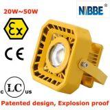 luz a prueba de explosiones de 50W LED para la explotación minera