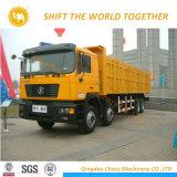 중국 트럭 Shacman 30ton 덤프 트럭 팁 주는 사람 트럭