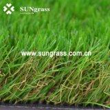 Prato inglese sintetico di simulazione del tappeto erboso dell'erba artificiale per l'abbellimento con lo SGS certificato