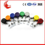 Металл низкой цены изготовленный на заказ и пластичный Retractable значок