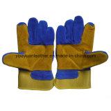 Отрежьте упорную кожаный работая перчатку сделанную в Gaozhou Китае