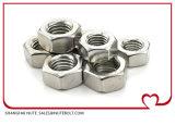 All-Metal prévalant Type de couple des écrous hexagonaux avec Bride DIN 6927