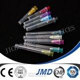 Aiguille d'injection hypodermique jetable pour seringues
