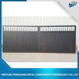 Una buena calidad personalizada valla de hierro forjado puerta /