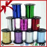 Personifizierte Weihnachtsfarbband-metallische lockige Geschenk-Farbbänder