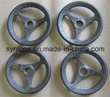 Nach Maß Sand-Gussteil-Stahl-Handrad