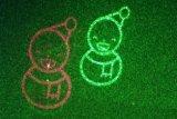 En el exterior la luz del láser para la Decoración de Navidad