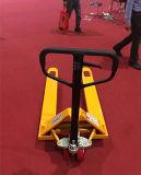 2000~5000kg手動バンドパレットのナイロン車輪手パレットジャックマニュアルのフォークリフト