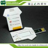 Het Geheugen USB van de Aandrijving van de Pen van het Adreskaartje van de t-shirt