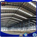 Taller de acero del edificio de la estructura del metal de las secciones laminadas en caliente prefabricadas