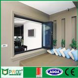 Modèle se pliant de guichet du Bi As2047 en aluminium pour des maisons