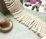 Qualitäts-Polyester-verschiedene Farben-Franse für Kleid-Zusatzgerät