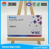 Cartões brancos da identificação do espaço em branco do tamanho do banco