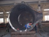 インドの鋼鉄工場で使用される大きい鋼鉄ひしゃく
