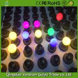 2W LED Farben-Birnen-Licht mit Eco PC Karosserie