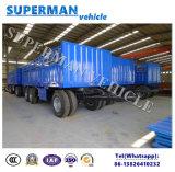 Aanhangwagen van de Vrachtwagen van de tri van de As van de Lading Trekbalk van de Zijwand Dolly de Semi Aanhangwagen