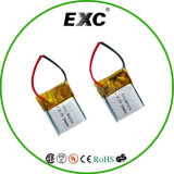 Batterie der Lithium-Plastik-Batterie-501215 3.7V 45mAh Lipo für GPS