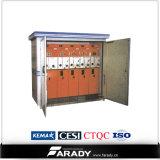 subestação eléctrica compata do quiosque do transformador de 11kv 33kv