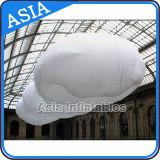 Nuages flottés gonflables blancs de PVC, ballon gonflable d'hélium de nuage