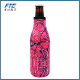 Refrigerador de la botella del neopreno de la sublimación con el abrelatas