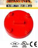 Крышка штуцеров дуктильного утюга UL FM Grooved для использования пожарной системы