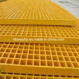 Rejilla de la fábrica de fibra de vidrio pultrusión China alimentación