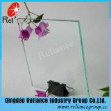 verre à vitres clair de 1.5mm/bâti en verre de photo/glace de couverture claire d'horloge