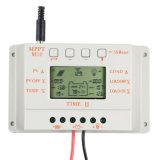 régulateur de batterie de panneau solaire de charge de 10AMP 12V/24V MPPT+PWM/contrôleur M10