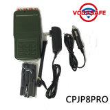 Power&#160 à haute production ; Brouilleur tenu dans la main de téléphone portable de 8 antennes, brouilleur professionnel de signal de qualité avec la batterie