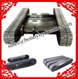 Personalizado de 1 a 100 toneladas de tren de rodaje de orugas de goma/ sistema de orugas de goma Maquinaria de construcción