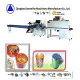 Swf-590 Swd-2000プディング自動収縮のパッキング機械