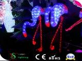 Motiv-Flamingo der Weihnachtsdekoration-LED beleuchtet Feiertags-Beleuchtung