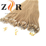 Estensioni dei capelli dell'anello dei capelli brasiliani umani del Virgin micro