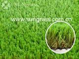 erba artificiale di paesaggio di 44mm per il balcone del giardino (SUNQ-AL00109)