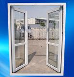 باب الكازادة ذو الفتح المزدوج PVC/UPVC من الداخل