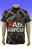 Commerce de gros de la promotion microfibre 100% unisexe T-Shirt de sport