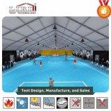 30x60m Sport Tienda estructuras con forma de arco de tenis y baloncesto y piscina