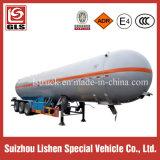 LPG газа топливозаправщика трейлер тележки трейлера Semi для сбывания